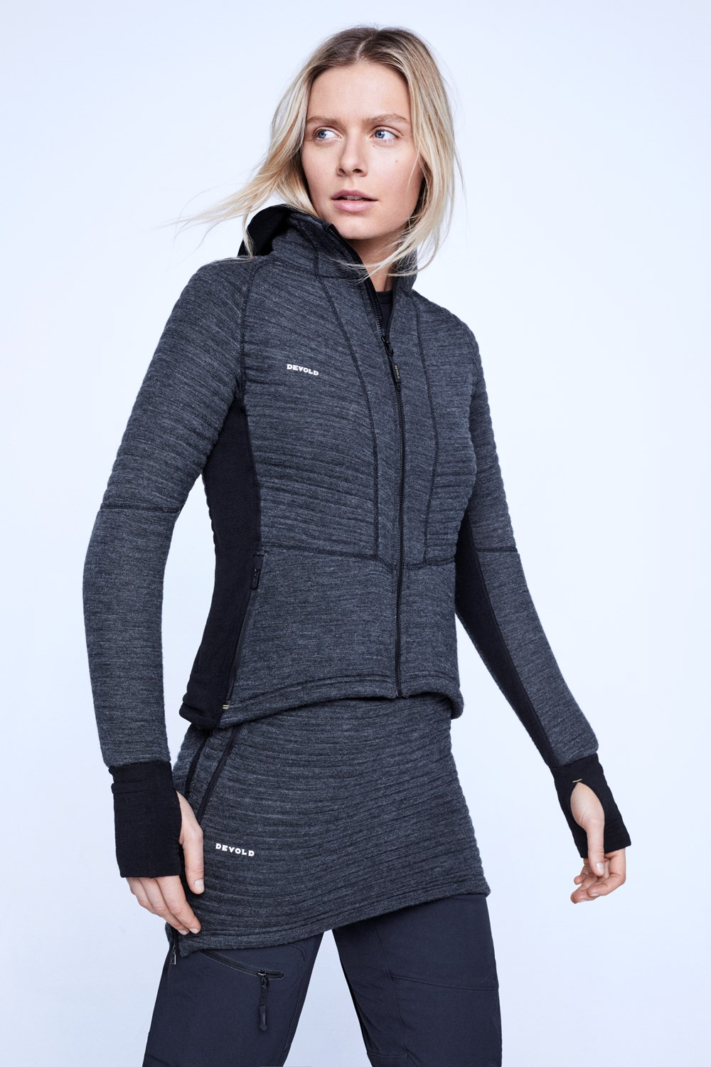 Tinden Spacer Woman Jacket wHood