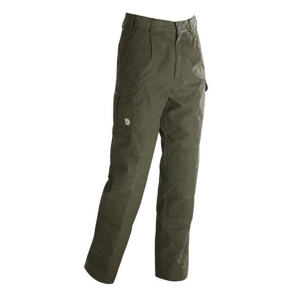 Forester Trousers Padded, Dark Oliv, Gr. 58