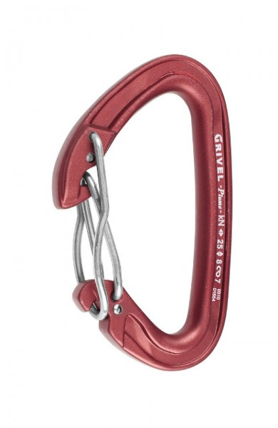 Rock Safety Carabiner K3G Plume Twin Gate