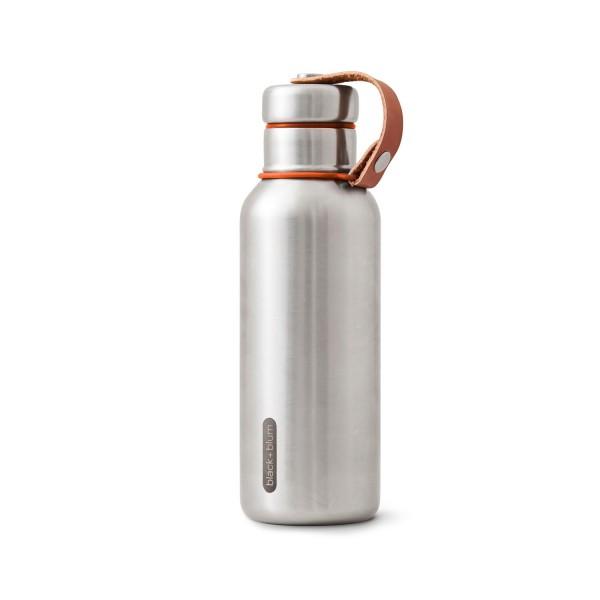 Edelstahl Wasserflasche isoliert