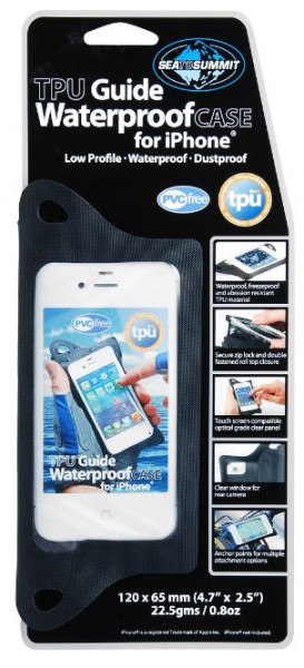 TPU Guide Waterproof Case for iPhone 5/4/3