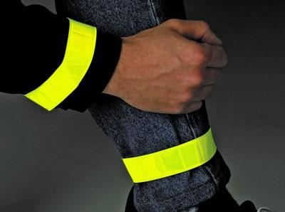 BasicNature Klettband - leuchtgelb 1 Paar