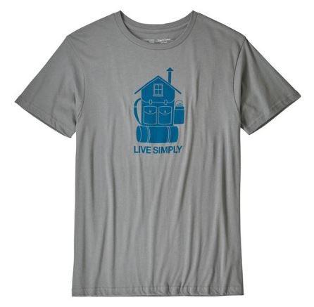 M's Live Simply Home Organic T-Shirt