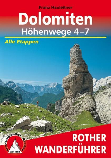 Dolomiten Höhenweg 4-7