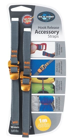 10mm Tie Down Accessory Strap with Hook