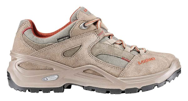 taupe/terracotta