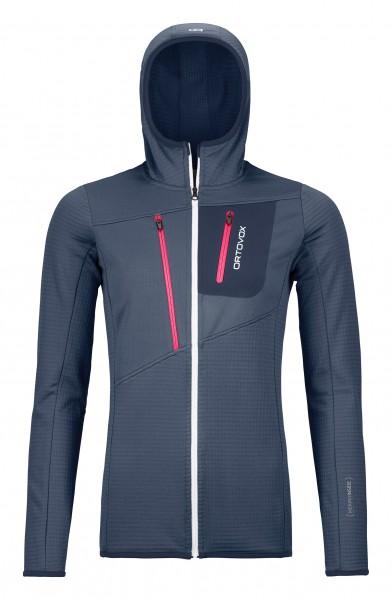 Fleece Grid Jacket W