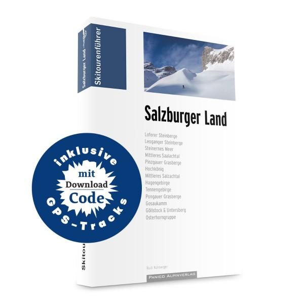 Skitourenführer Salzburger Land inkl. GPS-Tracks